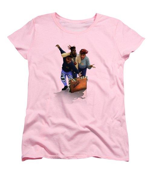 De La Soul Women's T-Shirt (Standard Cut) by Nelson  Dedos Garcia