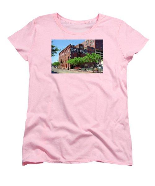 Denver Downtown Warehouse Women's T-Shirt (Standard Cut) by Frank Romeo