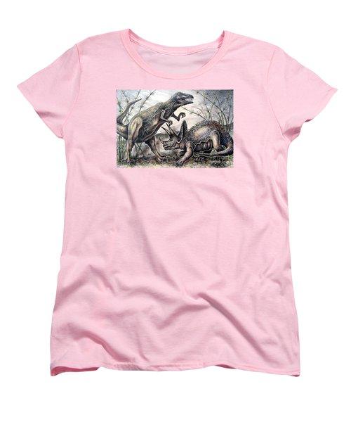 Derek Women's T-Shirt (Standard Cut) by Linda Shackelford