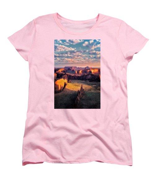 Desert Glow   Women's T-Shirt (Standard Cut) by Nicki Frates
