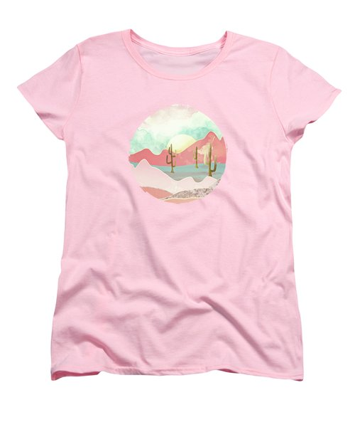 Desert Mountains Women's T-Shirt (Standard Cut) by Spacefrog Designs