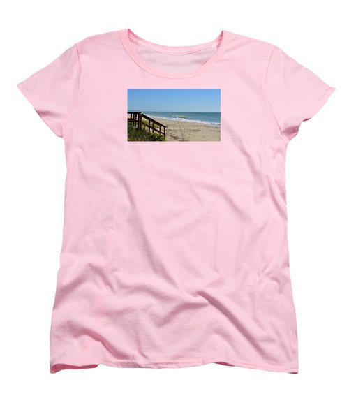Deserted Women's T-Shirt (Standard Cut) by Carol Bradley