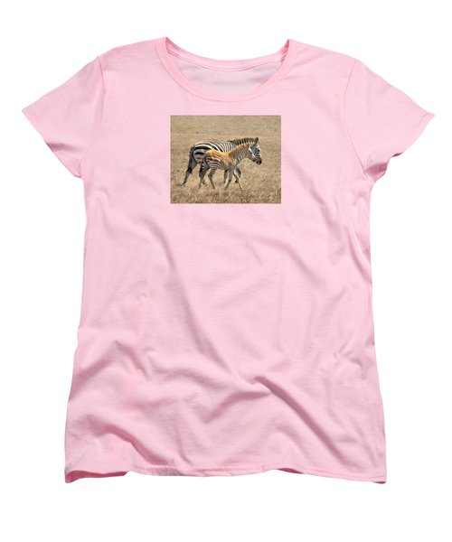 Different Stripes Women's T-Shirt (Standard Cut) by Alice Cahill