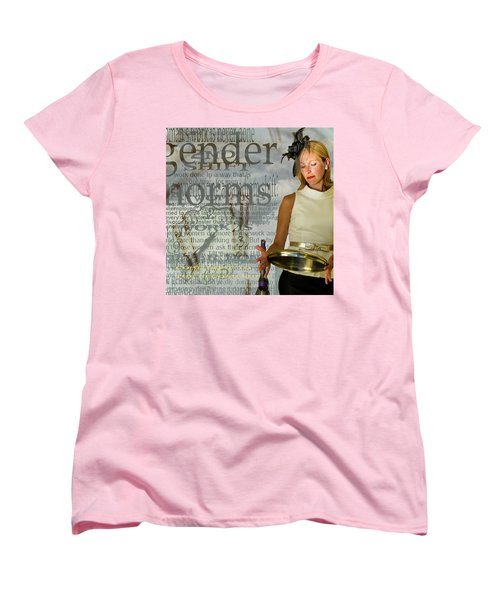 Domestic Considerations  Gender Norms Women's T-Shirt (Standard Cut) by Ann Tracy