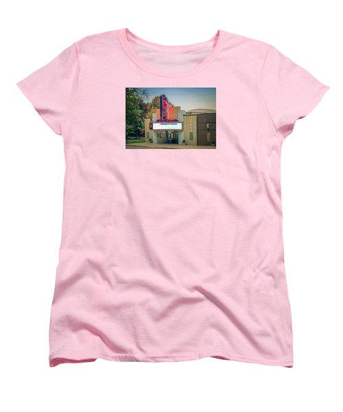 Women's T-Shirt (Standard Cut) featuring the photograph Don Gibson Theatre by Marion Johnson