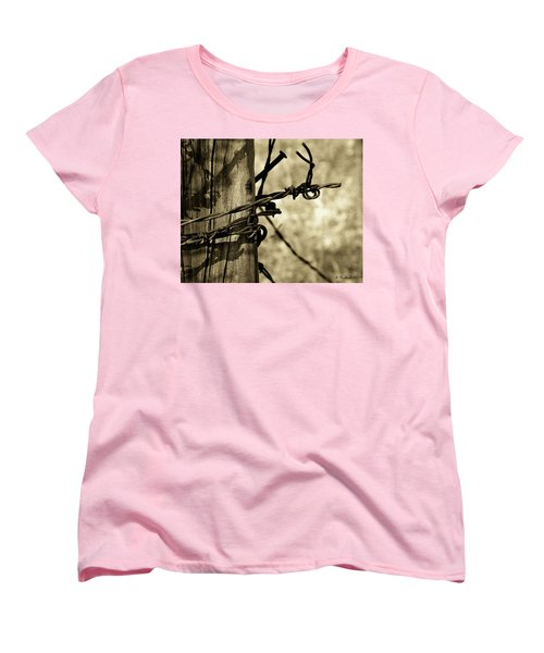 Don't Fence Me In 2 Women's T-Shirt (Standard Cut) by Betty Northcutt