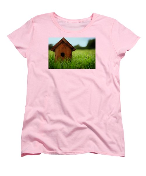 Women's T-Shirt (Standard Cut) featuring the photograph Down To Earth by Laura Fasulo
