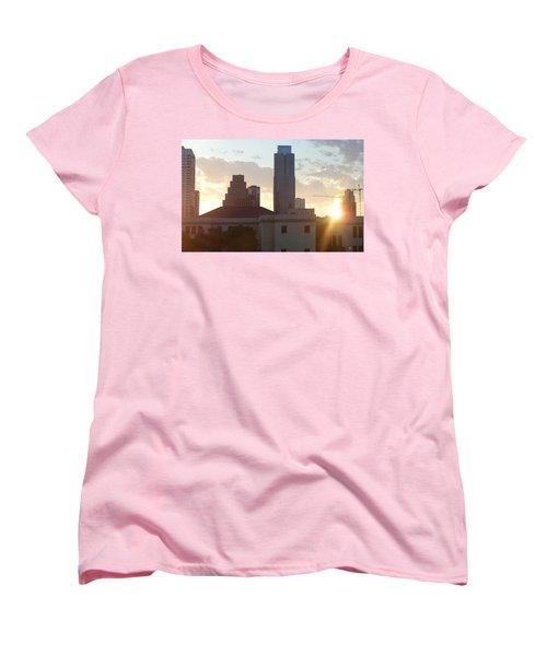 Downtown Austin Women's T-Shirt (Standard Cut) by Karen J Shine