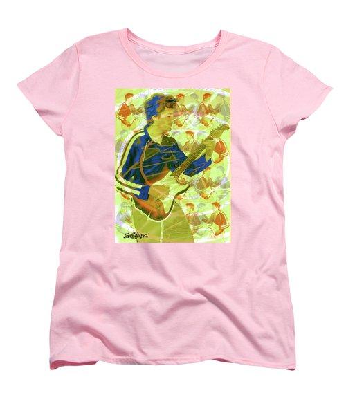 Dr. Guitar Women's T-Shirt (Standard Cut) by Seth Weaver