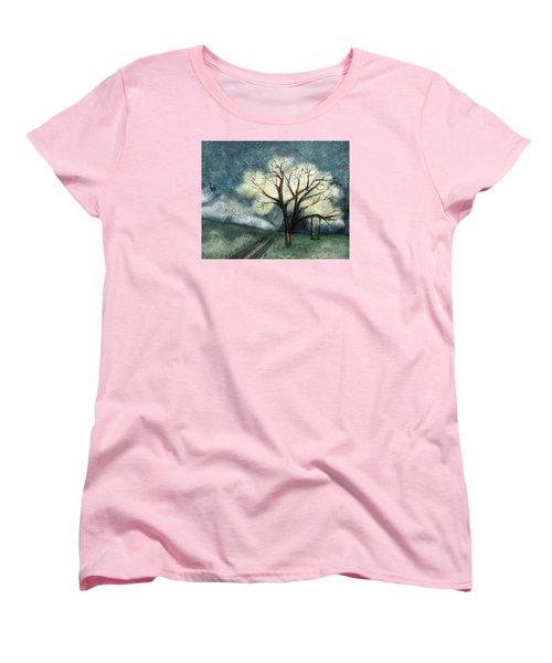 Dream Tree Women's T-Shirt (Standard Cut) by Annette Berglund