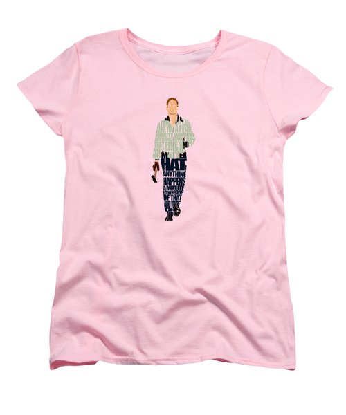 Driver - Ryan Gosling Women's T-Shirt (Standard Cut) by Ayse Deniz