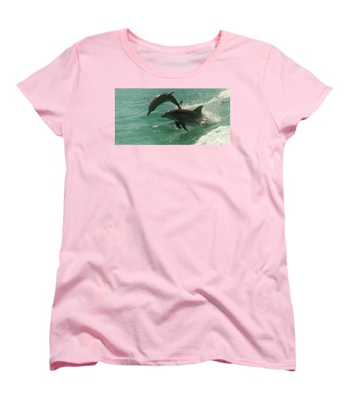 Duet Women's T-Shirt (Standard Cut) by Cassandra Buckley