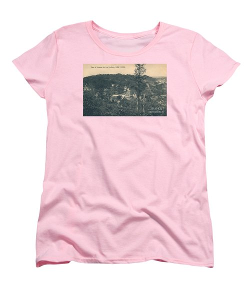 Women's T-Shirt (Standard Cut) featuring the photograph Dyckman Street At Turn Of The Century by Cole Thompson