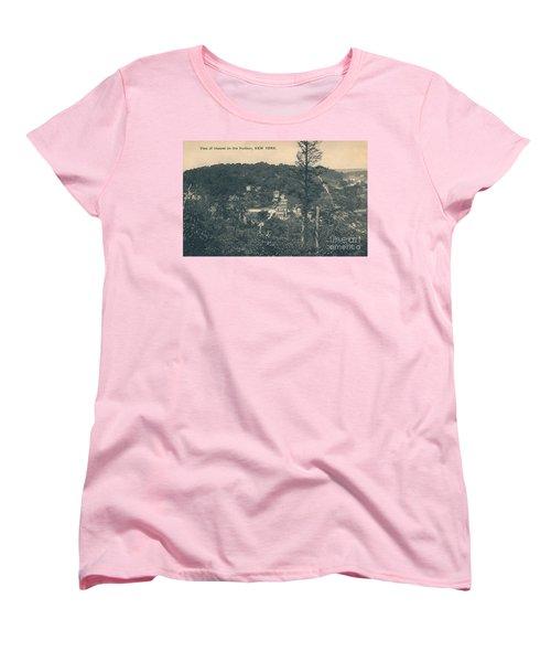 Dyckman Street At Turn Of The Century Women's T-Shirt (Standard Cut)