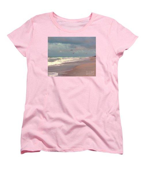 Early Evening Women's T-Shirt (Standard Cut) by Megan Dirsa-DuBois