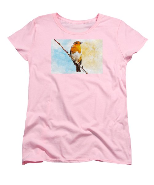Early Spring Women's T-Shirt (Standard Cut) by Greg Collins