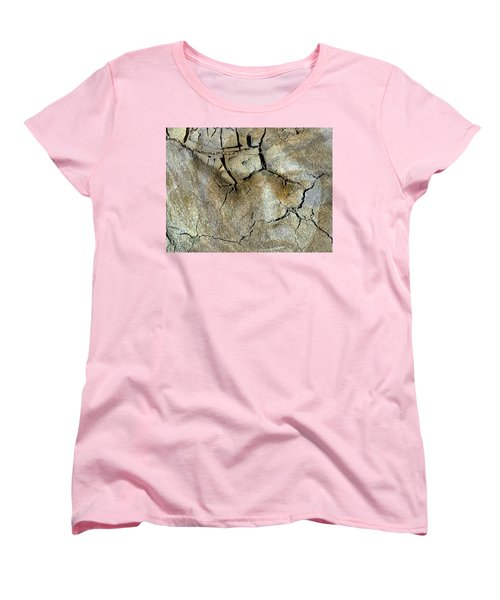 Women's T-Shirt (Standard Cut) featuring the photograph Earth Memories-thirsty Earth by Ed Hall
