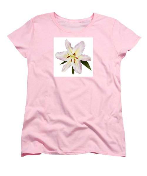 Easter Lilly 1 Women's T-Shirt (Standard Cut) by Tony Cordoza