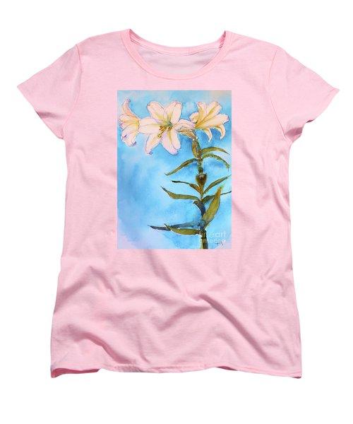 Easter Lily Women's T-Shirt (Standard Cut)