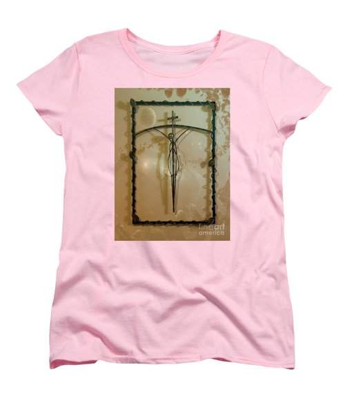 Women's T-Shirt (Standard Cut) featuring the photograph Easter Remembrance II by Al Bourassa