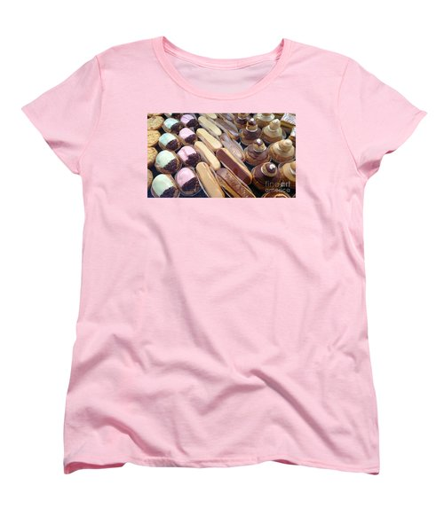 Women's T-Shirt (Standard Cut) featuring the photograph Eclaires by Therese Alcorn