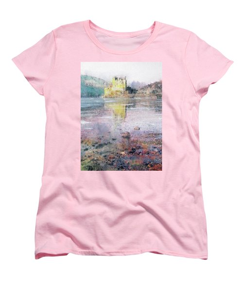 Eilean Donan Castle  Women's T-Shirt (Standard Cut) by Richard James Digance