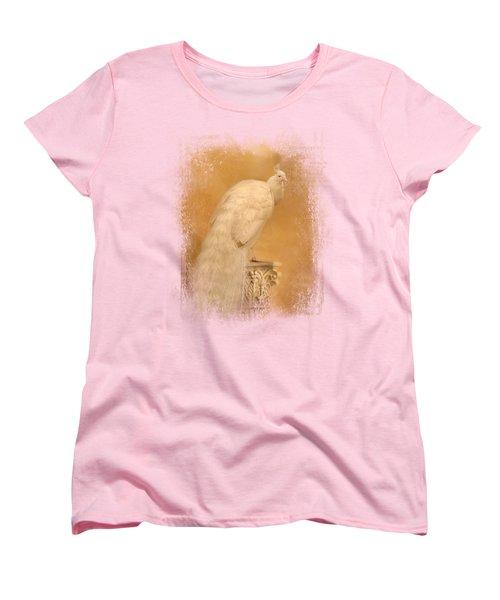 Elegance In Gold Women's T-Shirt (Standard Cut) by Jai Johnson