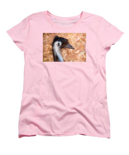 Emu Profile Women's T-Shirt (Standard Cut) by Mike  Dawson
