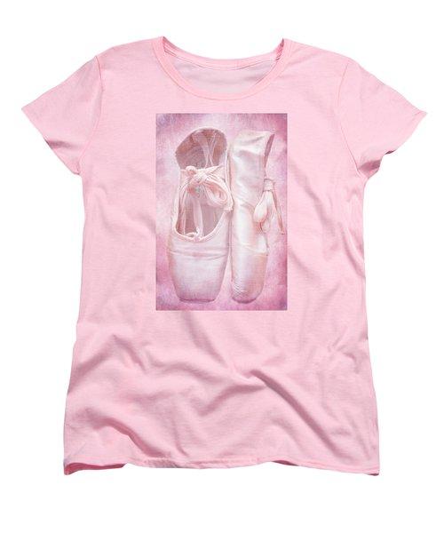 En Pointe Women's T-Shirt (Standard Cut) by Iryna Goodall