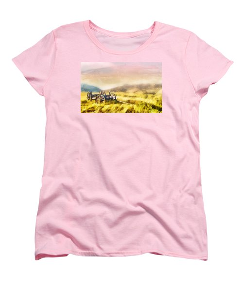 Enduring Courage Women's T-Shirt (Standard Cut) by Greg Collins