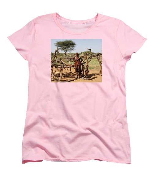 Ethiopia-south Mother And Baby No.2 Women's T-Shirt (Standard Cut) by Robert SORENSEN
