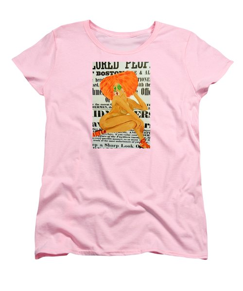 Eve  Caution Women's T-Shirt (Standard Cut) by Deedee Williams