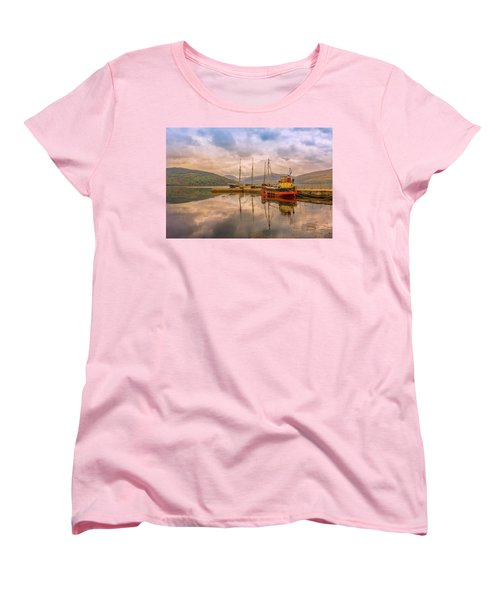 Evening At The Dock Women's T-Shirt (Standard Cut) by Roy McPeak