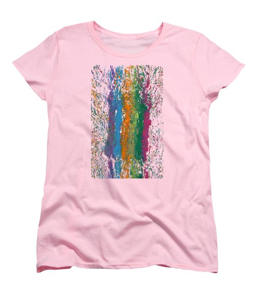 Exclamations 2 Women's T-Shirt (Standard Cut) by Lori Kingston