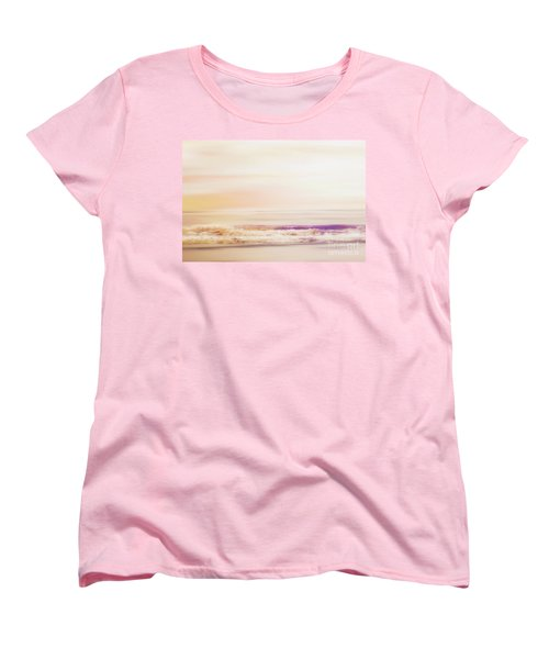 Expression - Dreams On The Shore Women's T-Shirt (Standard Cut) by Janie Johnson