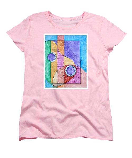 Fade Out Women's T-Shirt (Standard Cut) by Edwin Alverio