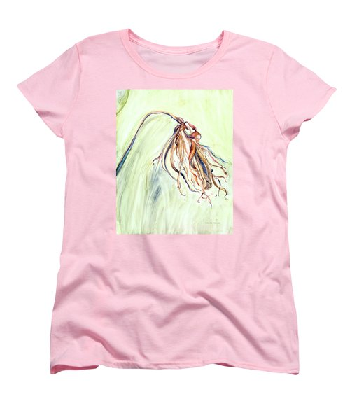 Women's T-Shirt (Standard Cut) featuring the painting Faded by Nadine Dennis