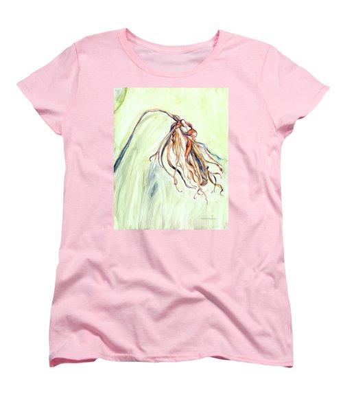 Faded Women's T-Shirt (Standard Cut) by Nadine Dennis
