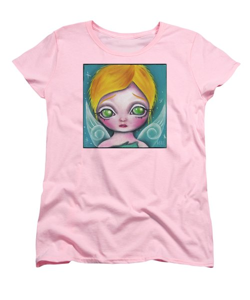 Fairy  Women's T-Shirt (Standard Cut) by Abril Andrade Griffith