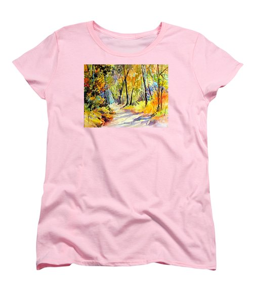 Fall Dazzle, Tennessee Women's T-Shirt (Standard Cut) by Rae Andrews