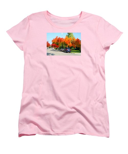 Fall In The City Women's T-Shirt (Standard Cut)