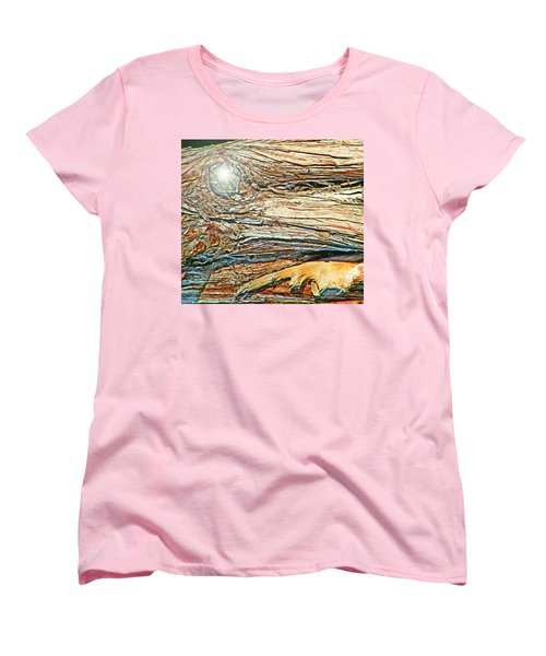 Women's T-Shirt (Standard Cut) featuring the photograph Fantasy Island by Lenore Senior