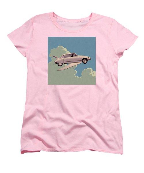 Fantomas 1965 - Right Panel Women's T-Shirt (Standard Cut) by Udo Linke