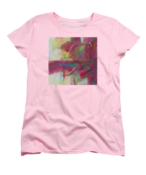 Feathering Women's T-Shirt (Standard Cut) by Susan Woodward