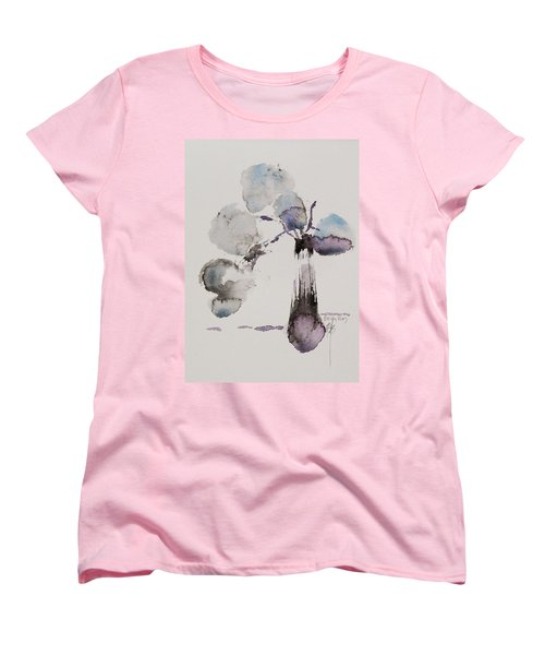 Women's T-Shirt (Standard Cut) featuring the painting February by Becky Kim