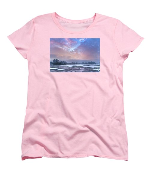 Fire And Ice Women's T-Shirt (Standard Cut)