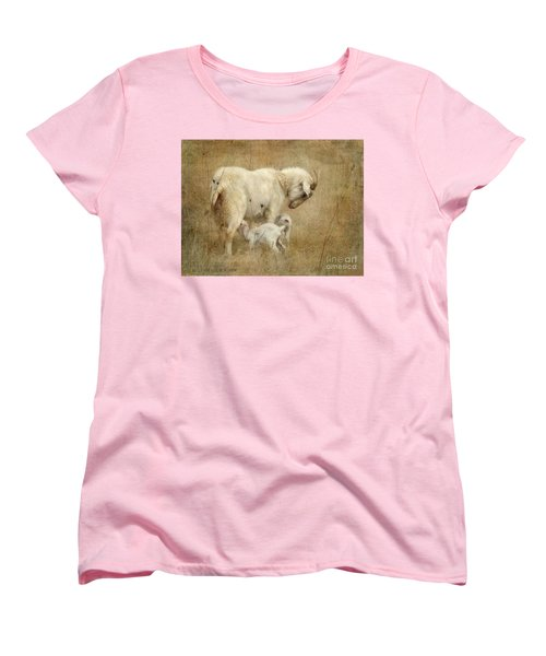 First Day Of Life Women's T-Shirt (Standard Cut) by Kathy Russell