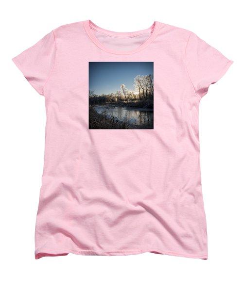 First Frost Women's T-Shirt (Standard Cut) by Annette Berglund