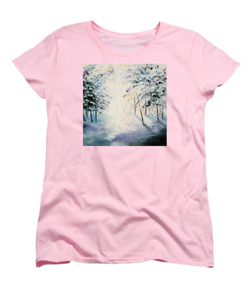 First Light Women's T-Shirt (Standard Cut) by Meaghan Troup