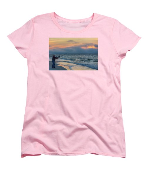 Women's T-Shirt (Standard Cut) featuring the photograph Fish On In Alabama  by John McGraw